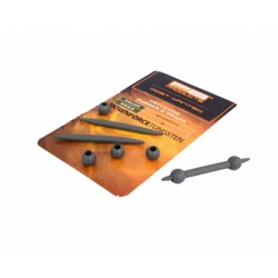 PB19211 - DT HELI-CHOD RUBBER & BEADS WEED 3PCS