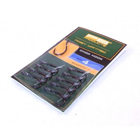 PB24060 - CHOD HOOK DBF SIZE 4 10PCS