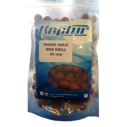 Boilies Magic Gold Red Krill 900g 20mm