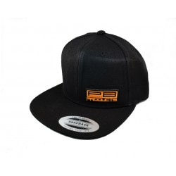 PB PRODUCTS FLAT CAP BLACK
