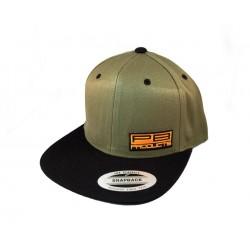 PB PRODUCTS FLAT CAP BLACK