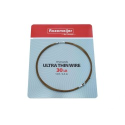 ROZ. ULTRA THIN WIRE 1X19 30LB 15FT/4,5MT