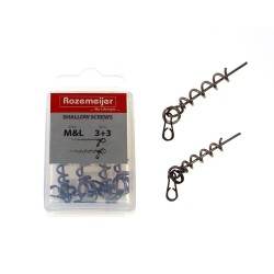 ROZ. SHALLOW SCREWS M&L INCL 6 SPLITRINGS