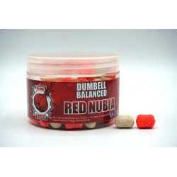 DUMBELL BALANCED RED NUBIA 10X14MM