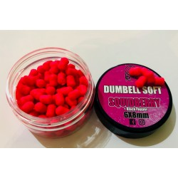DUMBELL SOFT 6x8MM SQUIDBERRY