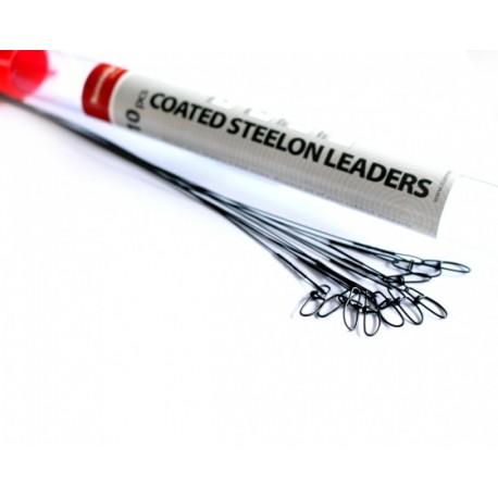 Roz. Coated Steelon Leaders 20lb 30cm 10pcs